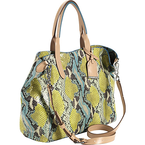 Cole Haan Crosby Snake Print Small Shopper