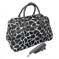 All-Seasons Giraffe 21-inch Carry-On Shoulder Bag – Brown