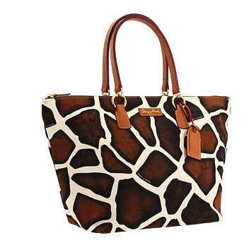 Dooney & Bourke – Nylon Giraffe Large Tulip Shopper Bag