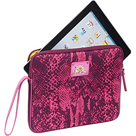 Juicy Couture Python Snake iPad Wristlet Case