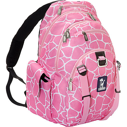 Wildkin Pink Giraffe Large Backpack Pink Giraffe