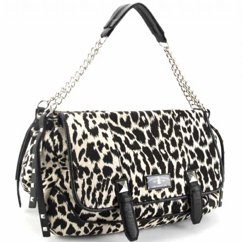 Christian Audigier Marge Hobo Bag -Leopard