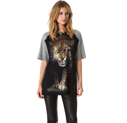 Faith Connexion Leopard T-Shirt
