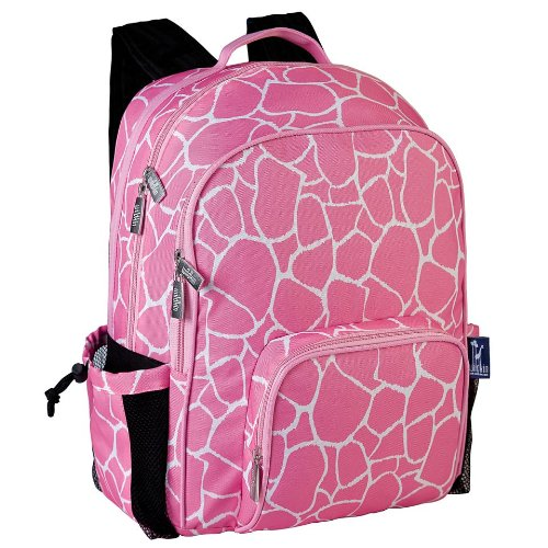 Pink Giraffe Macropak Backpack