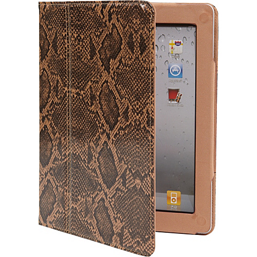 Specter Magnetic Folio Case Case for iPad 2 & New iPad Snake Skin