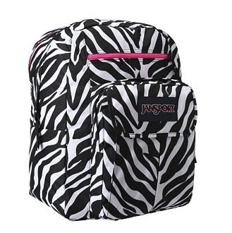 Jansport Zebra Backpack