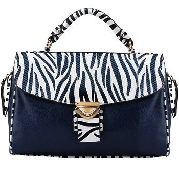 Le Prestige City Bag Zebra Navy