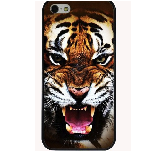 Iphone Case 5 & 5s Tiger Face