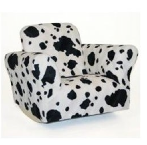 Cow Animal Print Standard Rocker