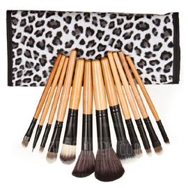 Black And White Leopard Makeup Brushes