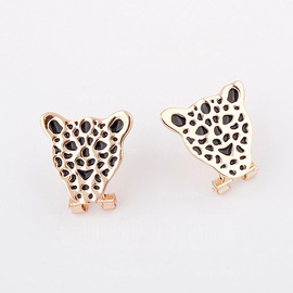Leopard Alloy Acrylic Women's Fashion Earrings