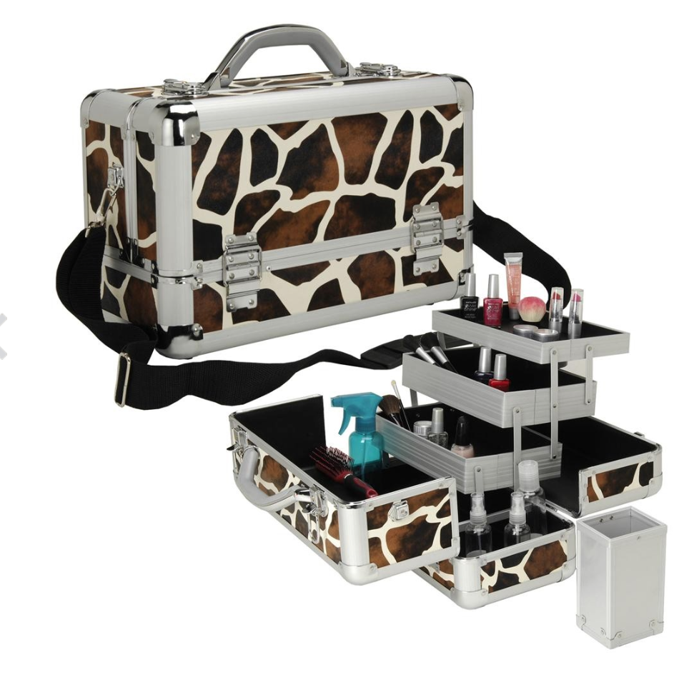 Seya Professional 3-Tier Makeup Case