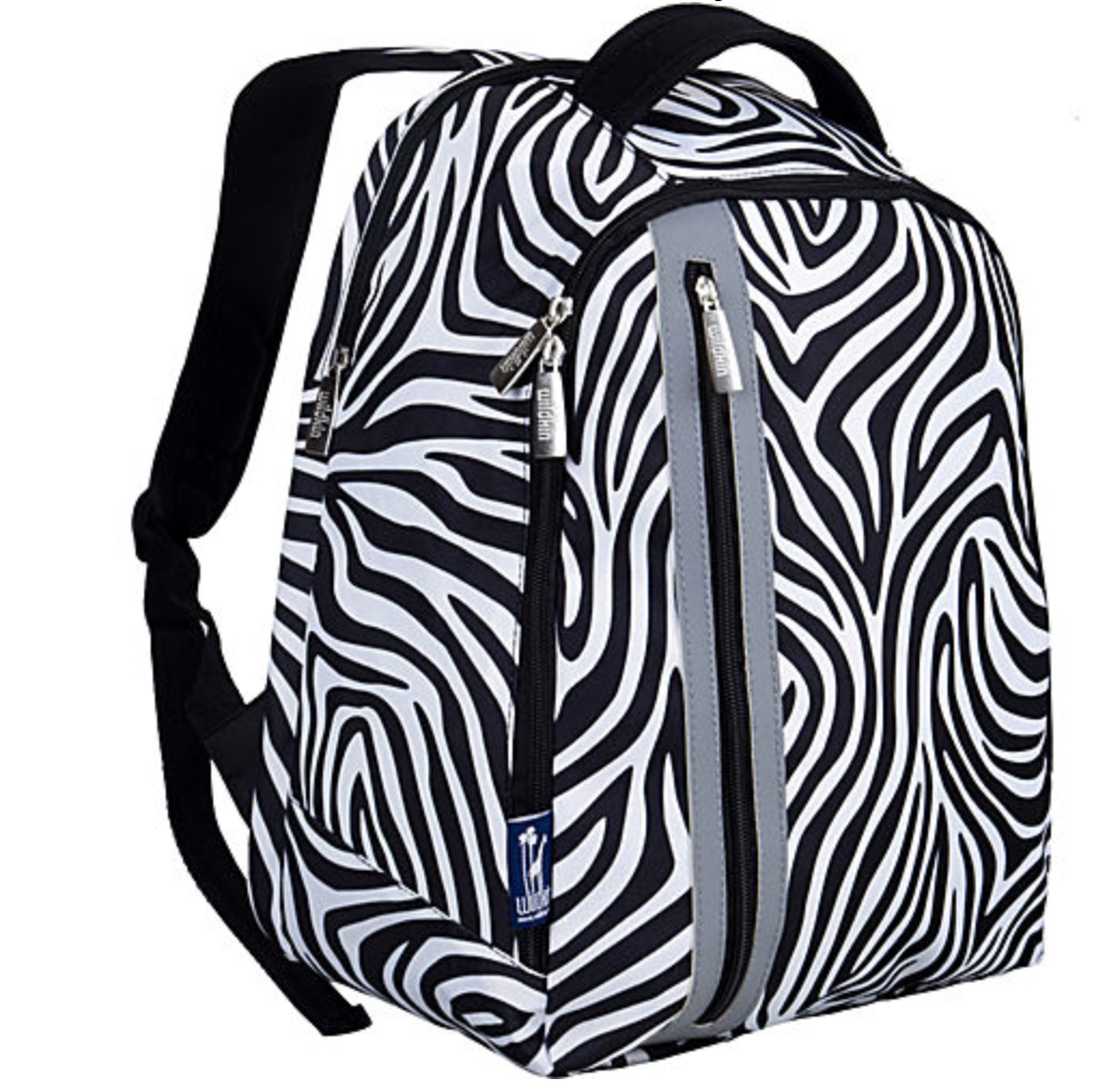 Wildkin Zebra Echo Backpack