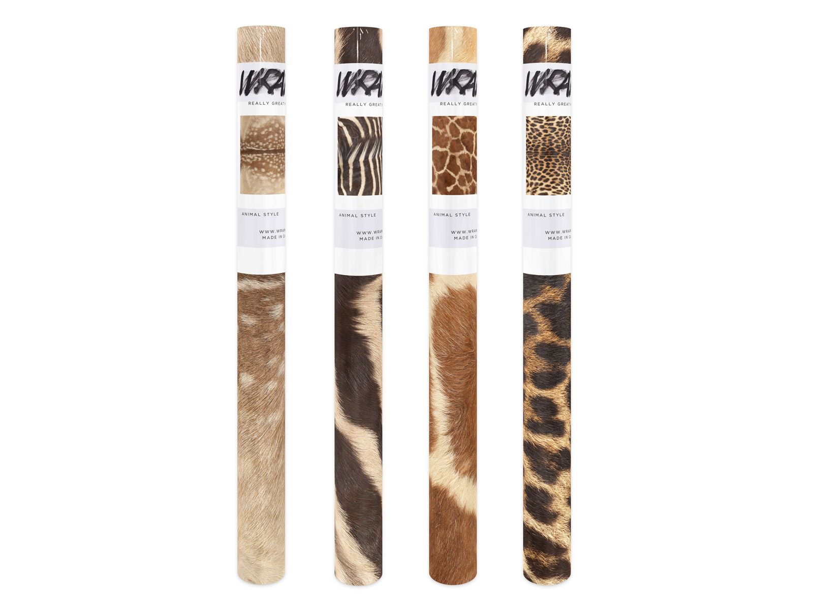Animal Print Wrapping Set