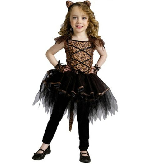 Ballerina Leopard Toddler Costume