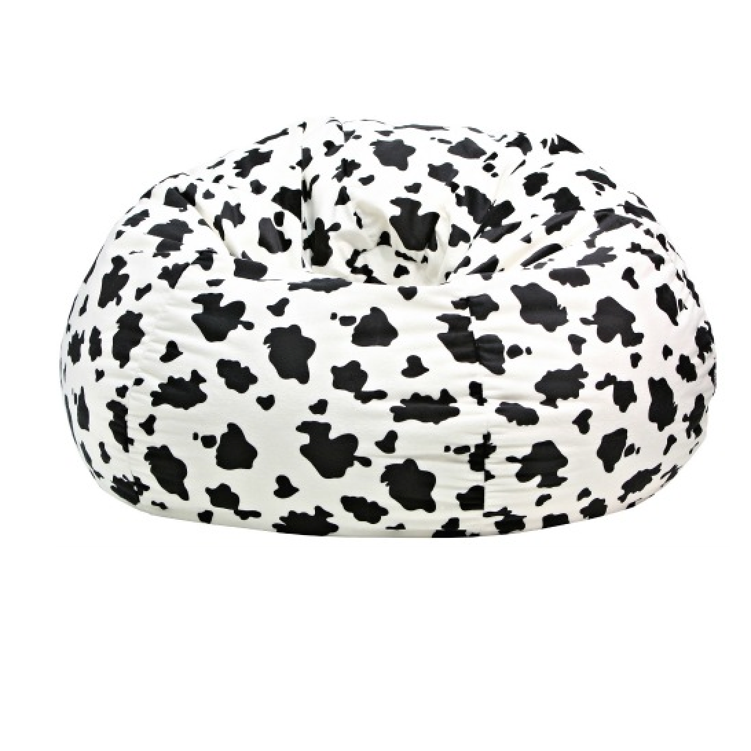 Animal Skin Cow Print Bean Bag Chair
