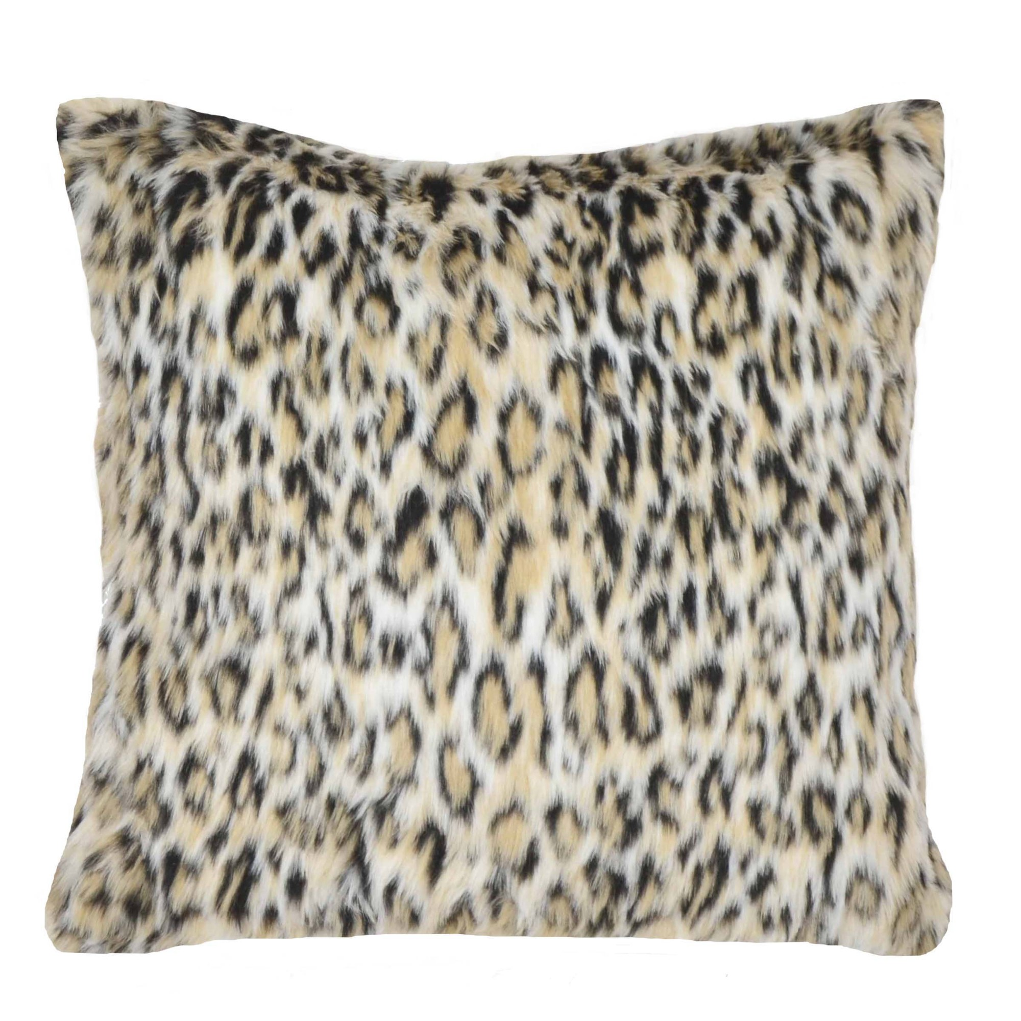 Ellery Homestyles Studio Leopard Fur Pillow