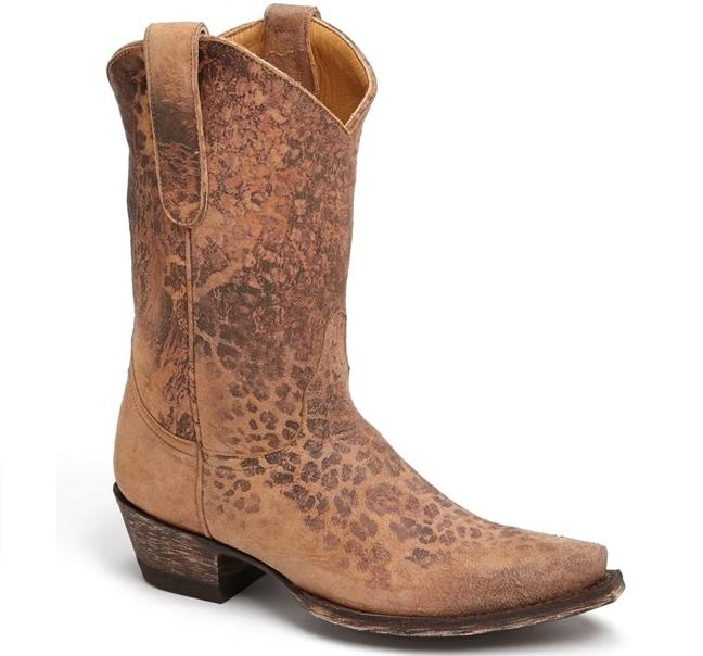 Old Gringo Leopard Western Boot