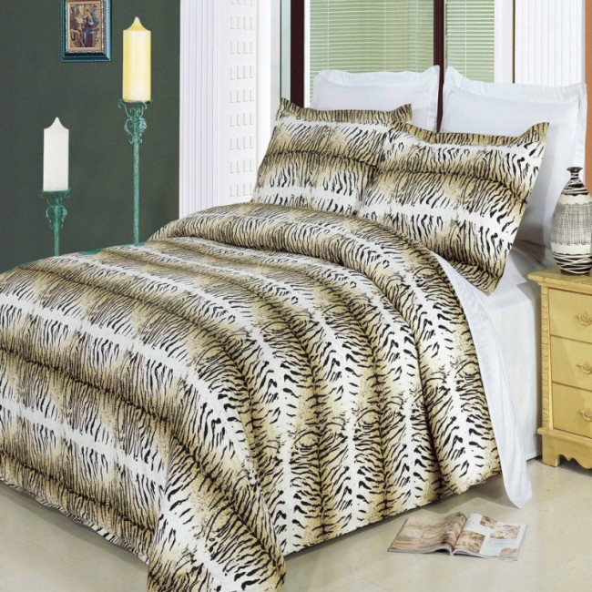 3-PC Safari 100% Egyptian Cotton Duvet Set
