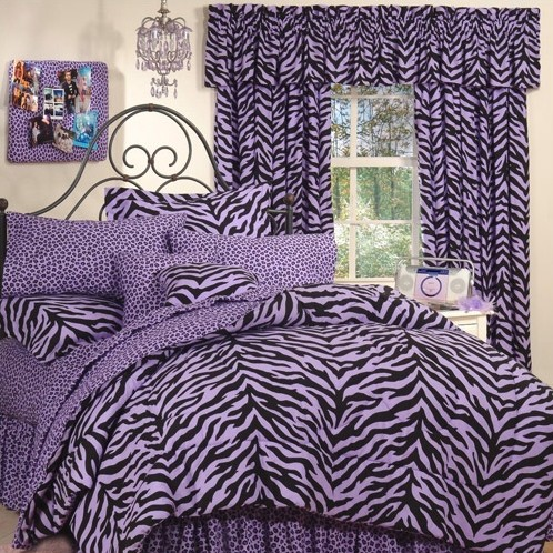 Karin Maki Purple Zebra Bed-in-a-Bag Collection