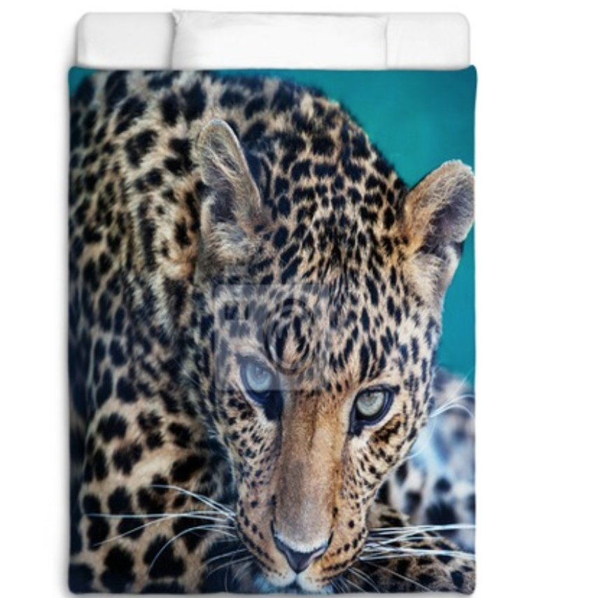 VisionBedding True Leopard Linens and Home Decor