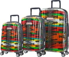 Carlos Falchi Rio Three Piece Set Luggage