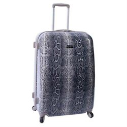 Jessica Simpson Luggage Snake Skin Print 28″ Twister Hardside Luggage