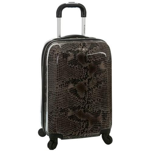 Rockland Vision Light Hardside Spinner Carry-On Luggage – Snake