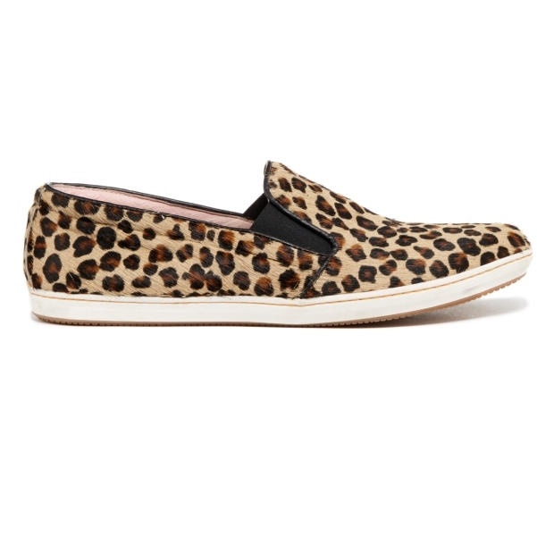 ELLA Leopard Print Loafer Shoes