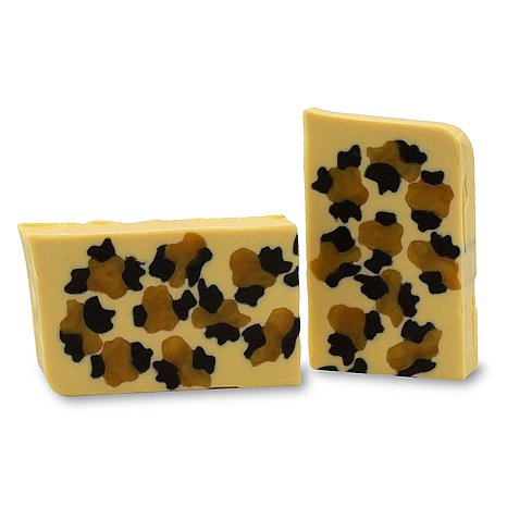Handmade Vegetable Glycerin Soap Duo – Leopard