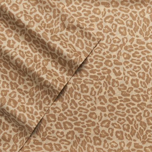 Juicy Couture Animal Instinct Leopard Sheets – Queen