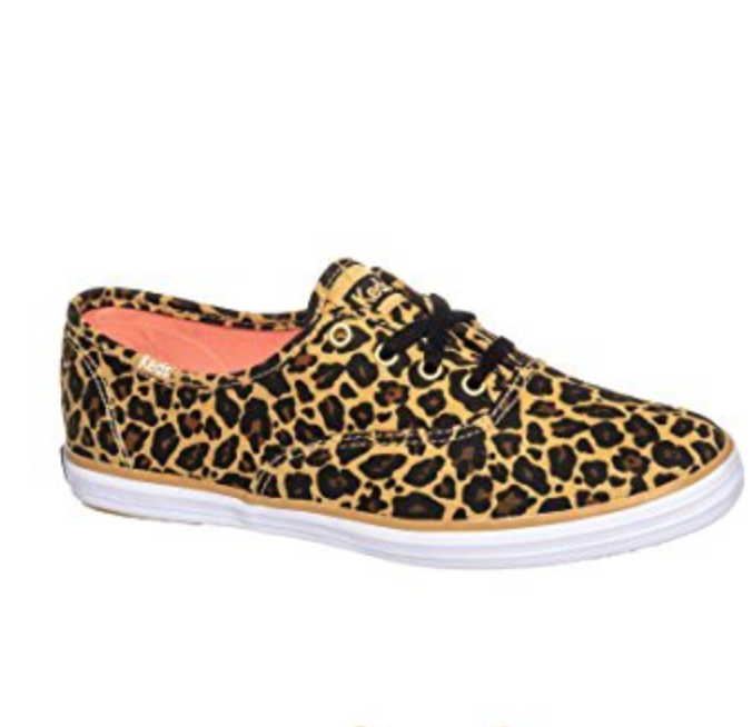 Keds Champion Leopard Low Top Sneaker