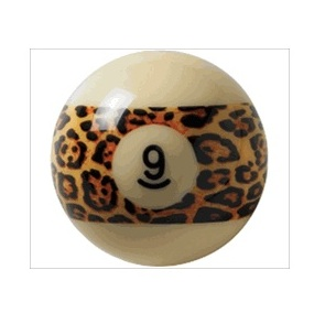 Aramith Leopard 9 Billiard Ball