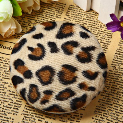 Leopard Glove Powder Puff Pad Cosmetic Applicator Makeup Beauty Gadgets