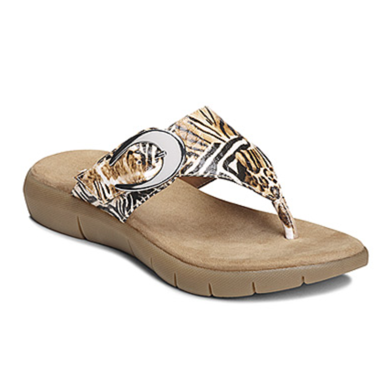Women's Aerosoles Animal Print Sandal