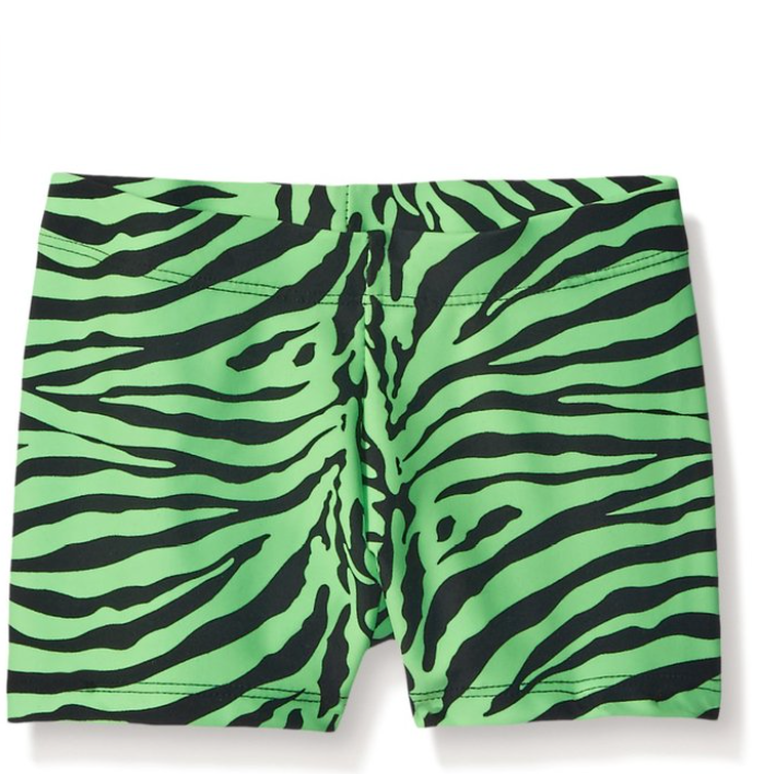 Gia-Mia Dance Girls' Animal Print Short