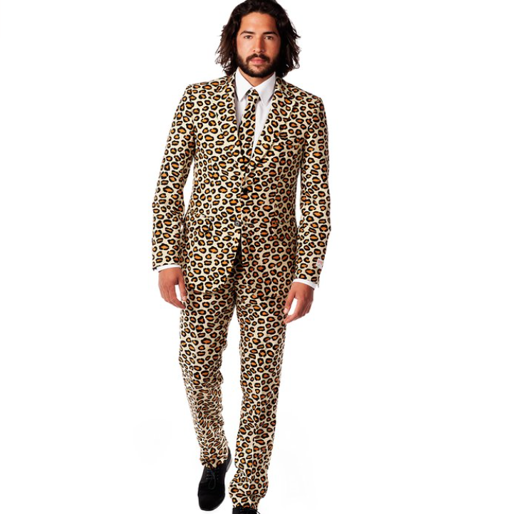 Men's The Jag Party Cheetah Costume Suit