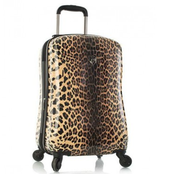 Heys America Leopard Panthera 21″ Carry-On Fashion Spinner