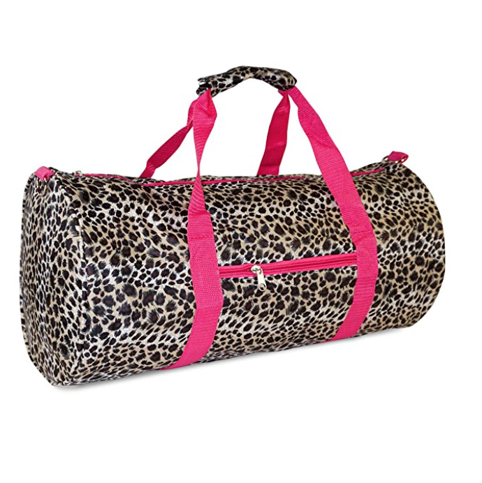 Travel Sports Gym Duffel Bag Leopard Animal Print